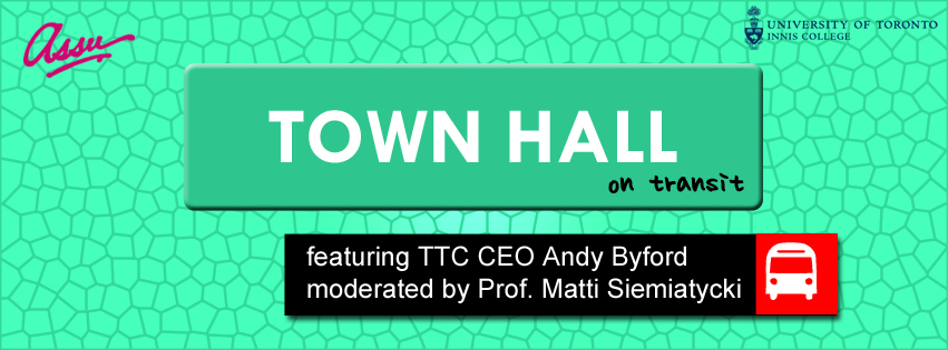 With CEO Andy Byford. Thurs Nov 19th - Innis Town Hall